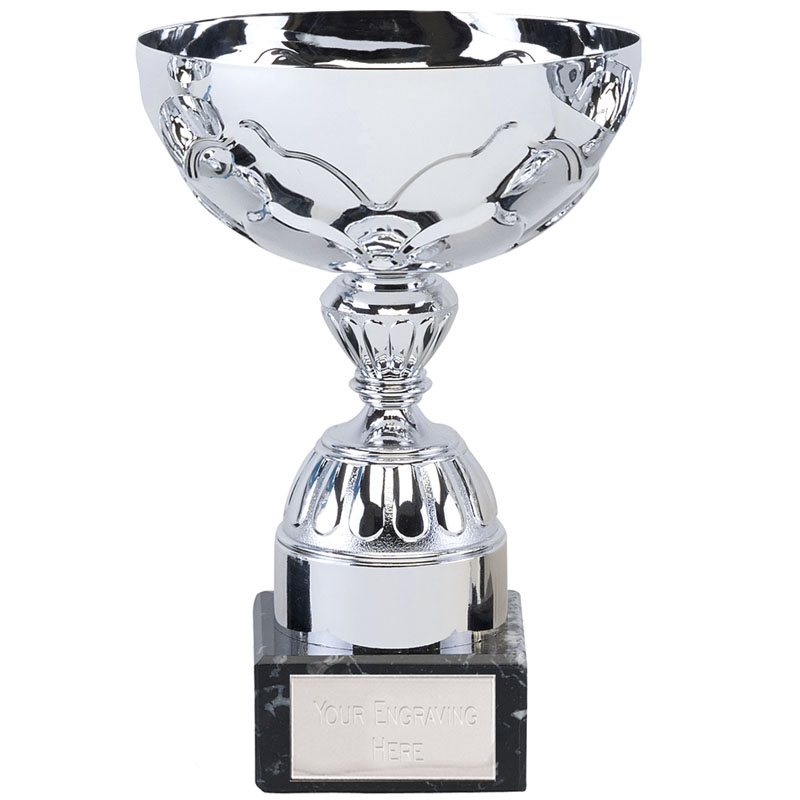 7 Inch Decorative Stem Eagle Trophy Cup