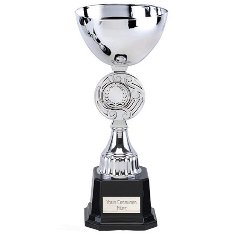 9 Inch Centre Disc Stem Jupiter Trophy Cup