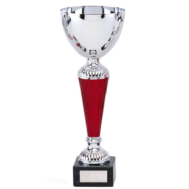 9 Inch Red Stem Osprey Trophy Cup