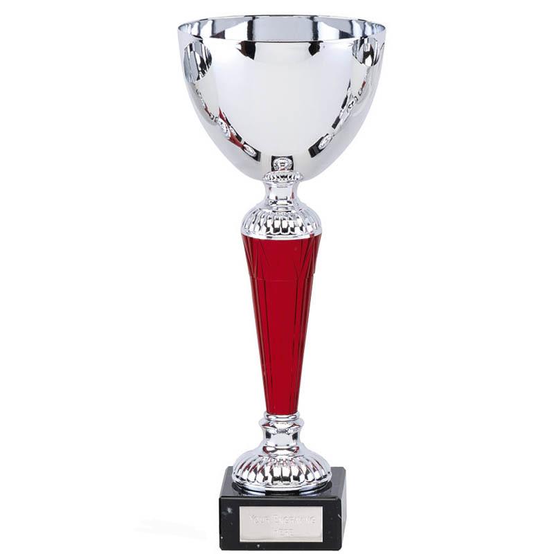 11 Inch Red Stem Osprey Trophy Cup