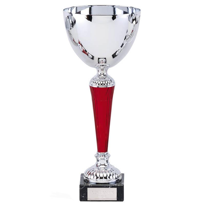 12 Inch Red Stem Osprey Trophy Cup