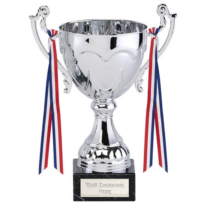 8 Inch Decorative Ribbons and Exquisite Handles Sydney Trophy Cup