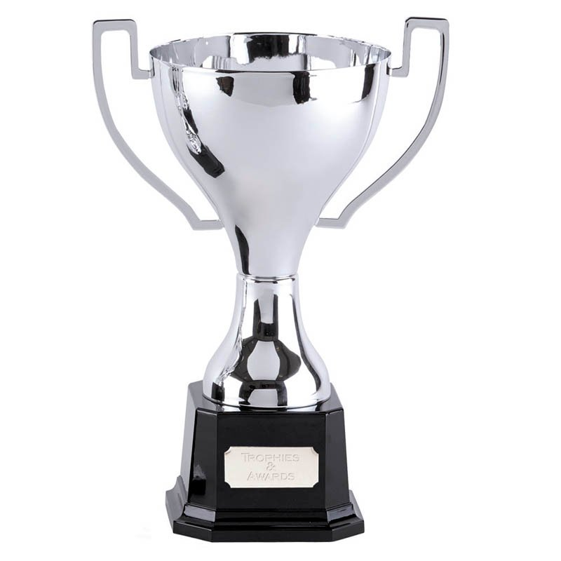 12 Inch Flat Handles with Heavyweight Base Zenith Trophy Cup