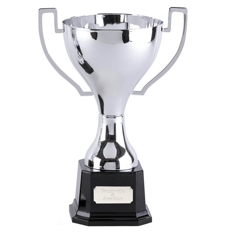 14 Inch Flat Handles with Heavyweight Base Zenith Trophy Cup