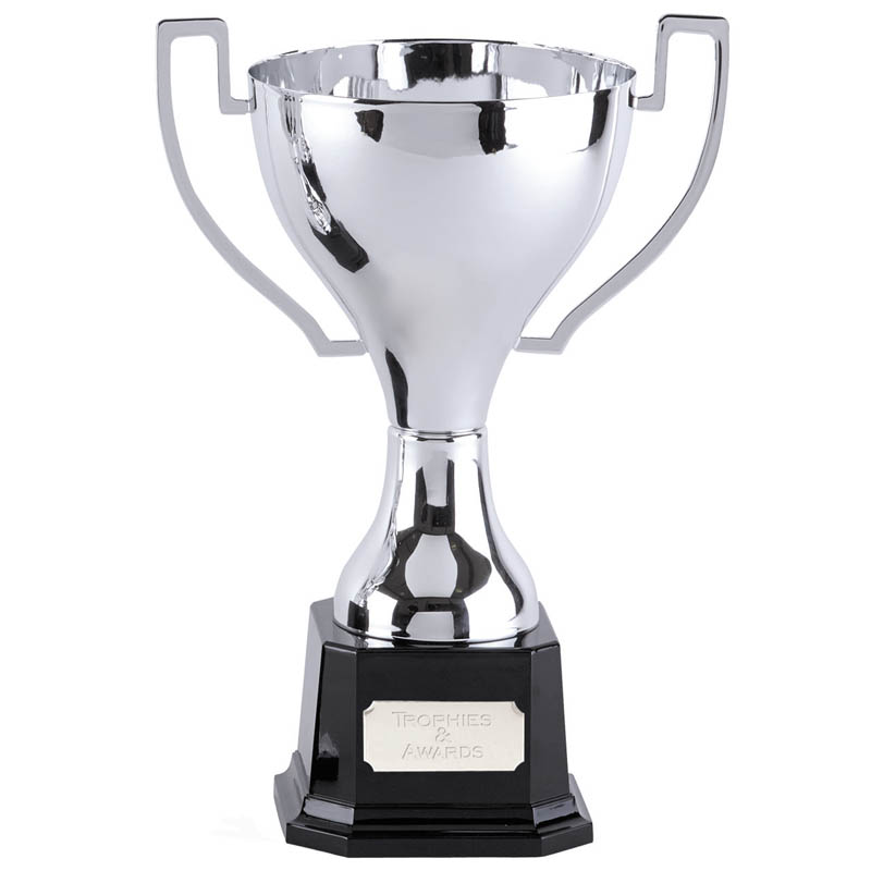 15 Inch Flat Handles with Heavyweight Base Zenith Trophy Cup
