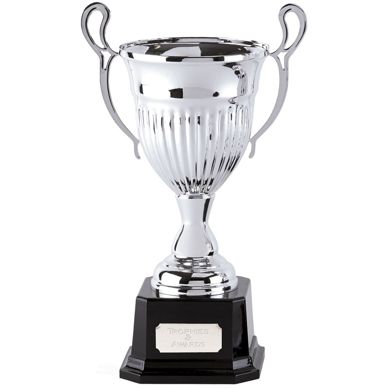 14 Inch Textured Cup with Heavyweight Base Cosmic Trophy Cup