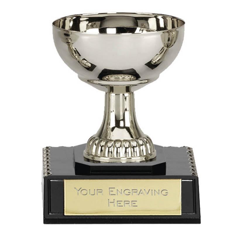 4 Inch Silver Plain Westbury Trophy cup