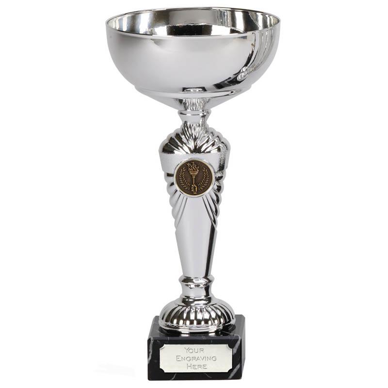 10 Inch Wide Stem Centre Holder Pemberton Trophy Cup