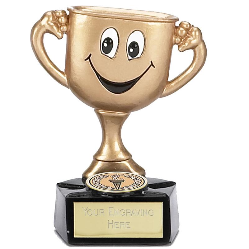 3 Inch Gold Cup Man Children