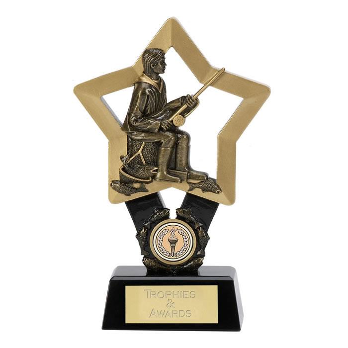 9 Inch Star Fisherman Award