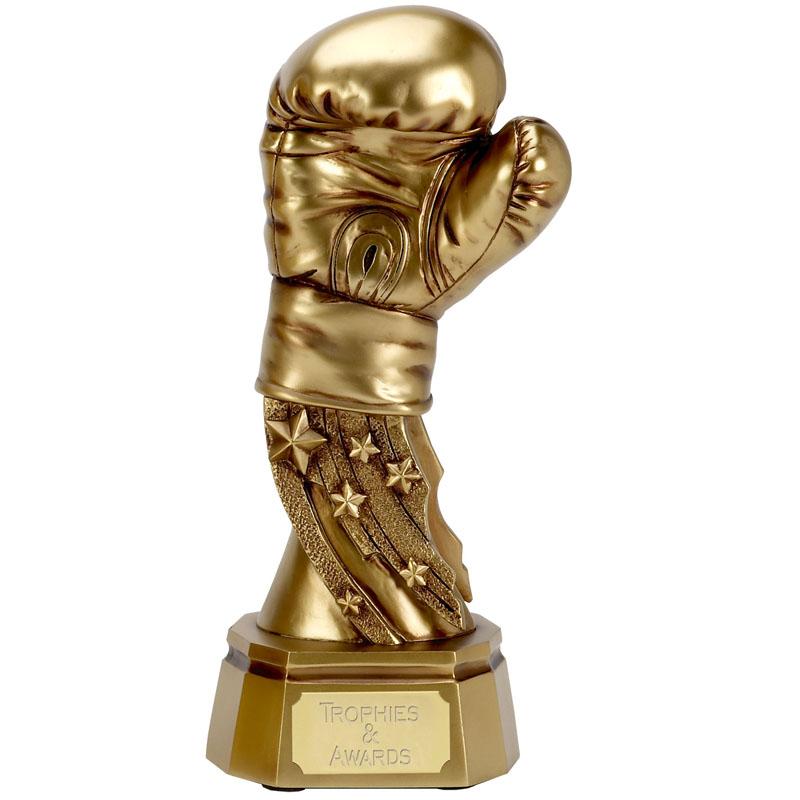6 Inch Golden Glove Boxing Award