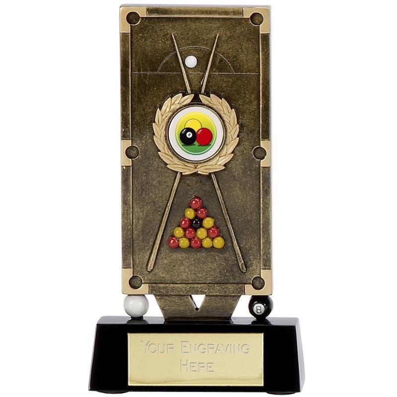 6 Inch Premier Pool Table Award