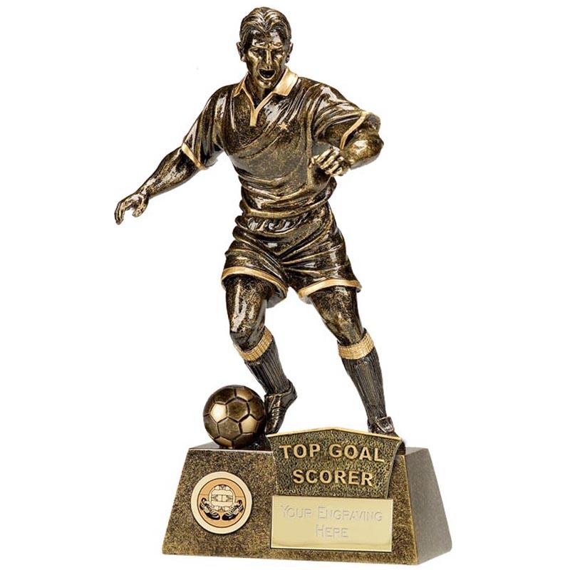 Top Goal Scorer Football Pinnacle Statue