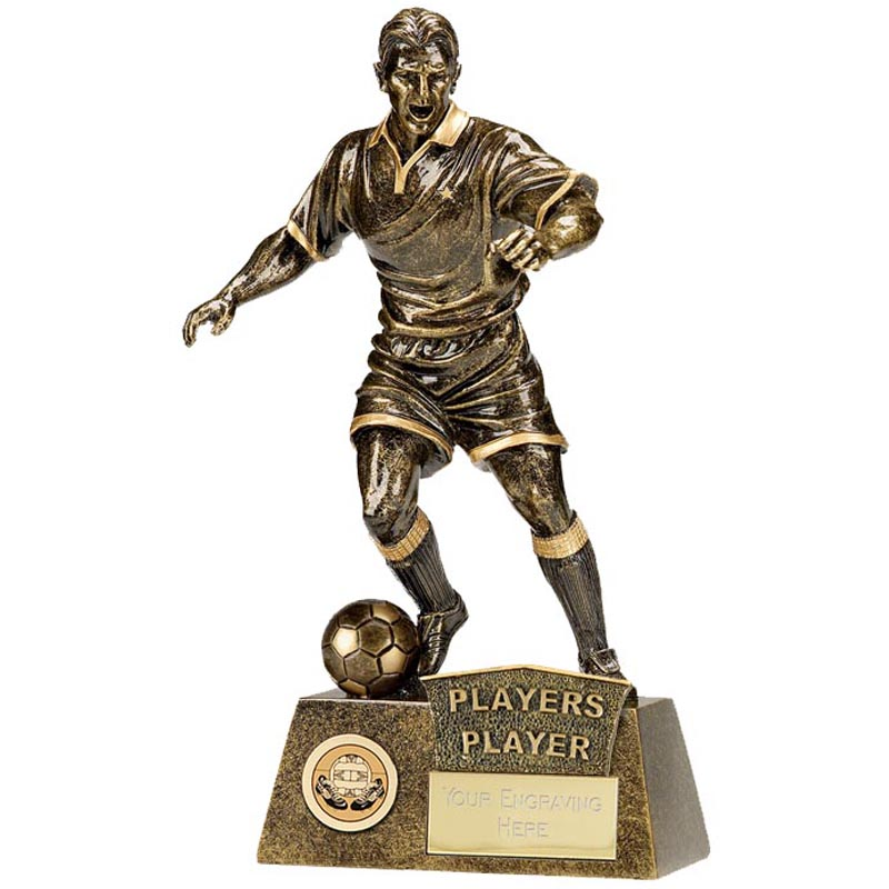 9 Inch Players Player Football Pinnacle Statue