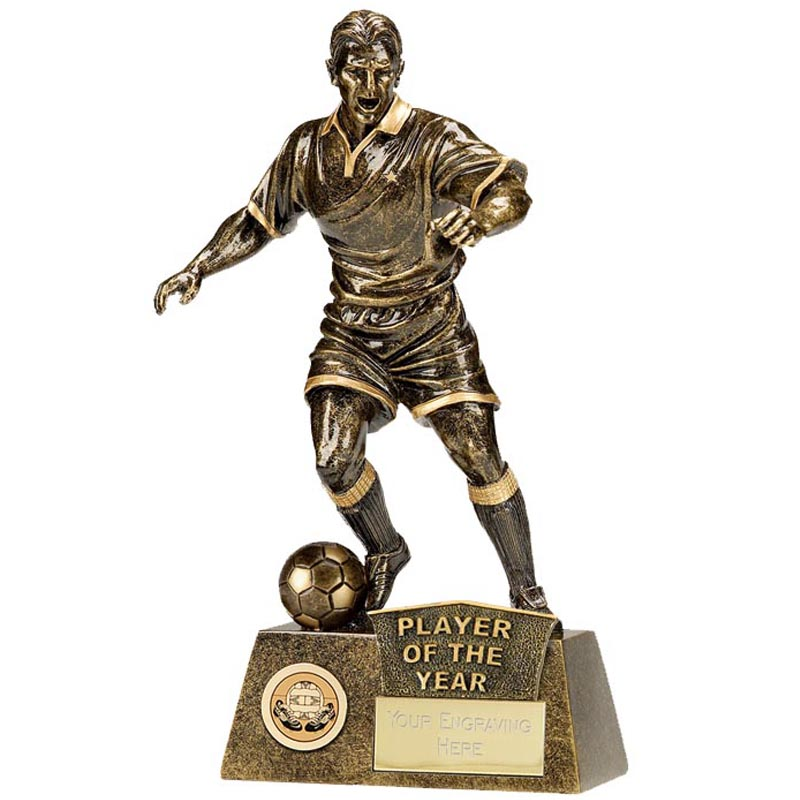 9 Inch Player of the Year Football Pinnacle Statue