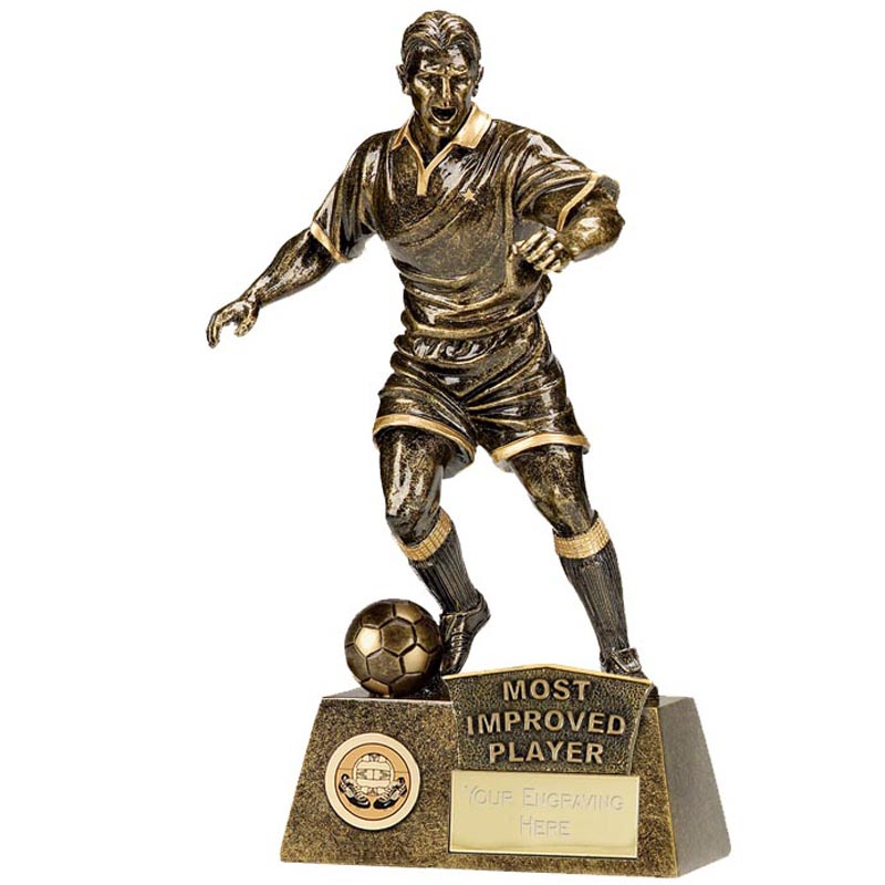 Managers Player Football Pinnacle Statue