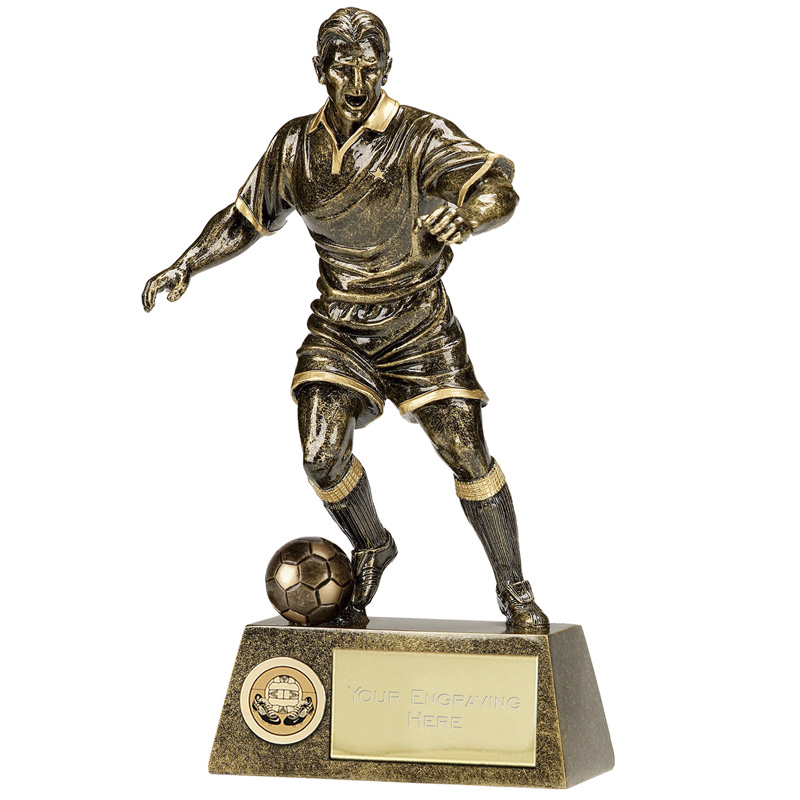 12 Inch Towering Football Pinnacle Statue