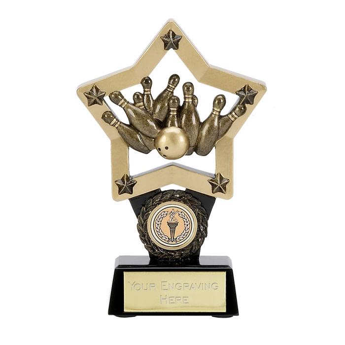 6 Inch Ten Pin Star Award