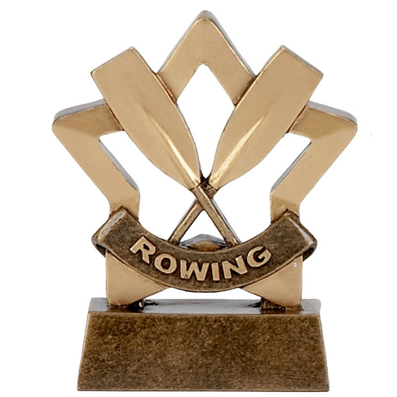 3 Inch Mini Star Rowing Award