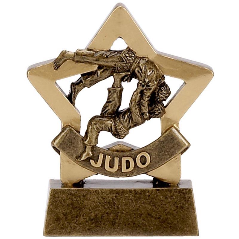 3 Inch Mini Star Judo Award