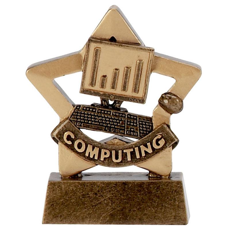 3 Inch Mini Star Computing Award