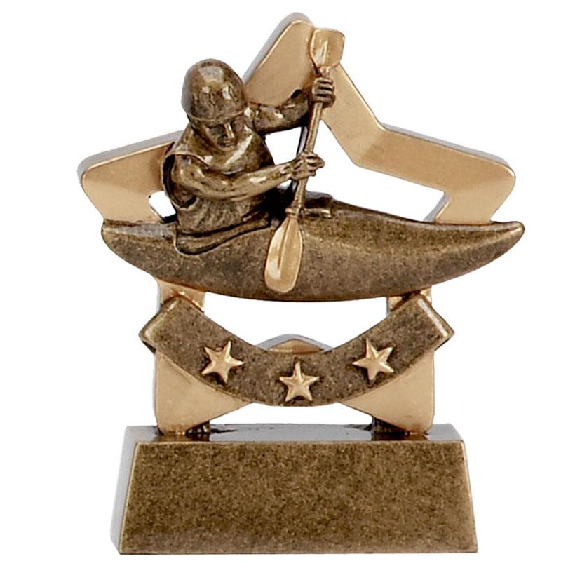 3 Inch Mini Star Kayaking Award