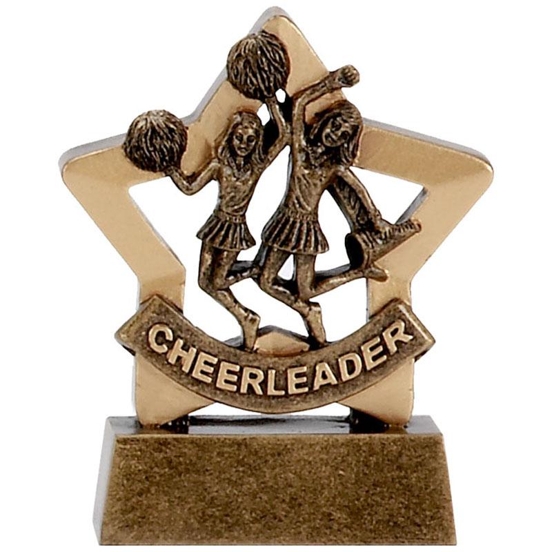 3 Inch Mini Star Cheer-Leading Award