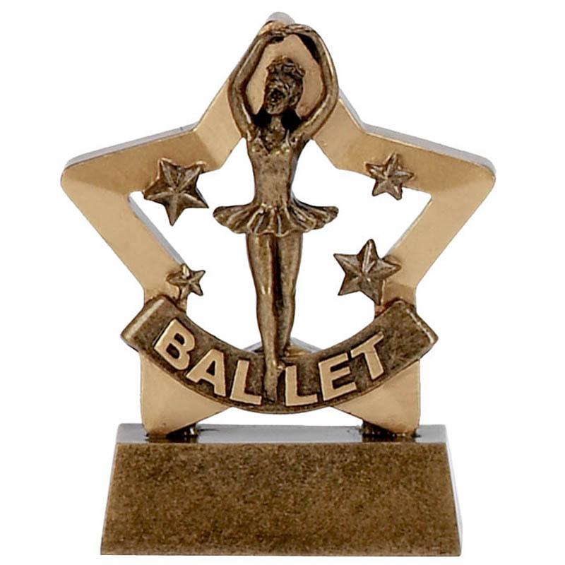 3 Inch Mini Star Ballet Award