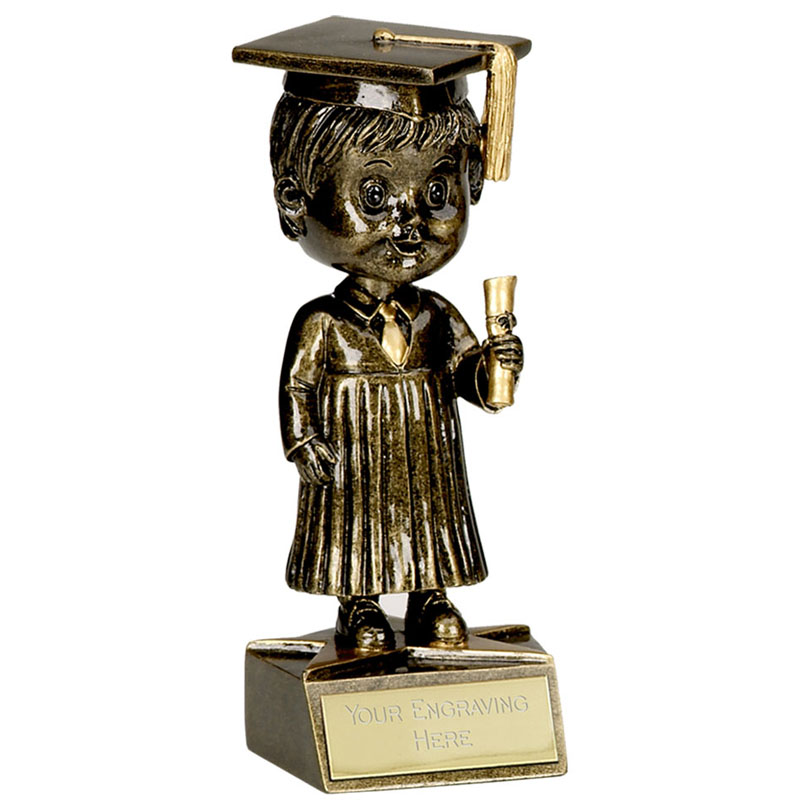 6 Inch Bobblehead Male Graduation Award