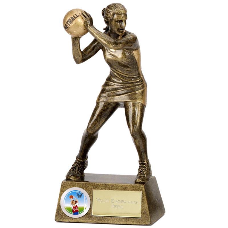 6 Inch Pinnacle Netball Award