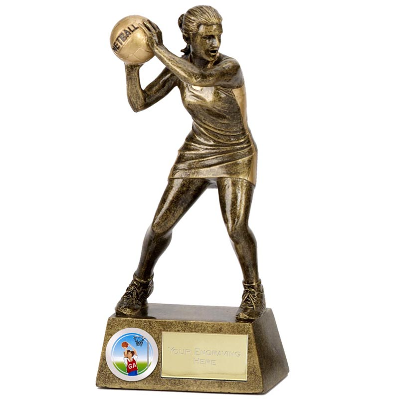 7 Inch Pinnacle Netball Award