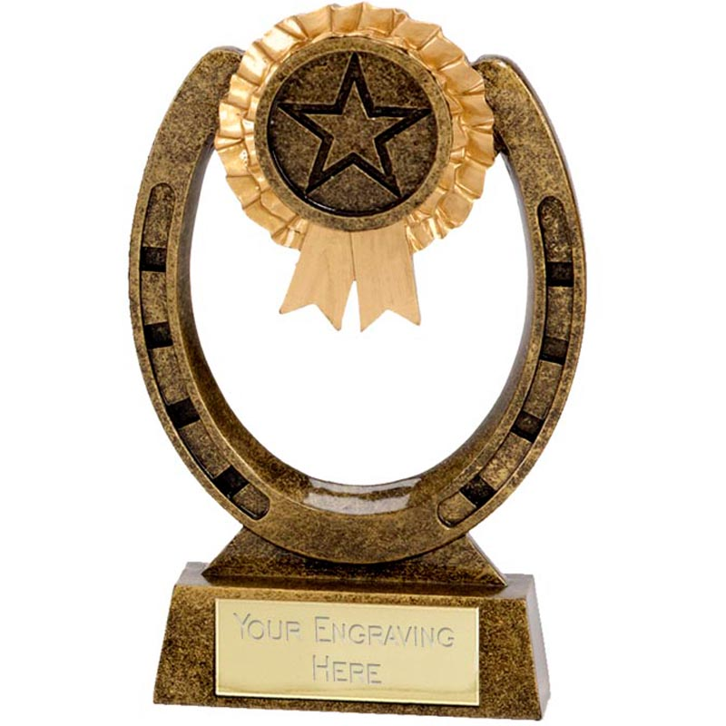 4 Inch Greenway Horse Shoe Award