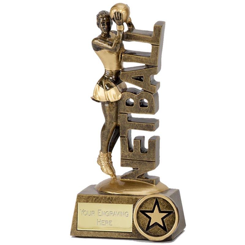 6 Inch Power Netball Award