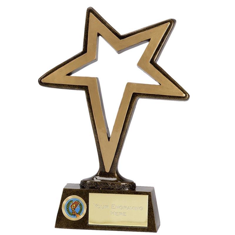 9 Inch Pinnacle Shooting Star Award
