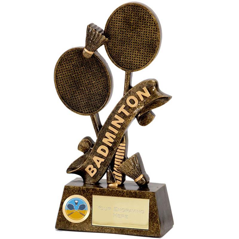 6 Inch Pinnacle Badminton Award