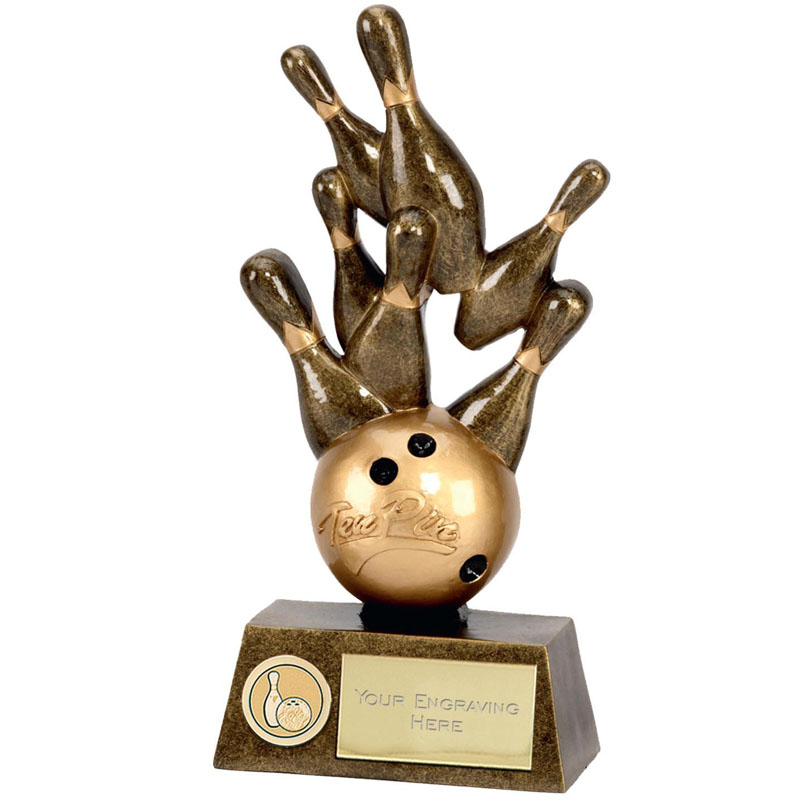 7 Inch Pinnacle Ten Pin Award