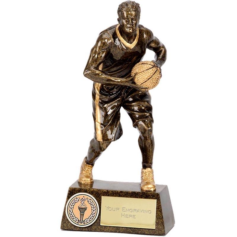 6 Inch Pinnacle Basketball Male Award