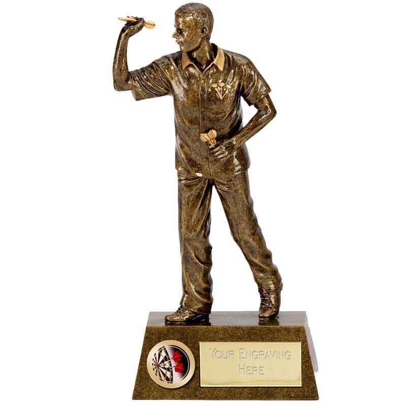 7 Inch Pinnacle Darts Man Award