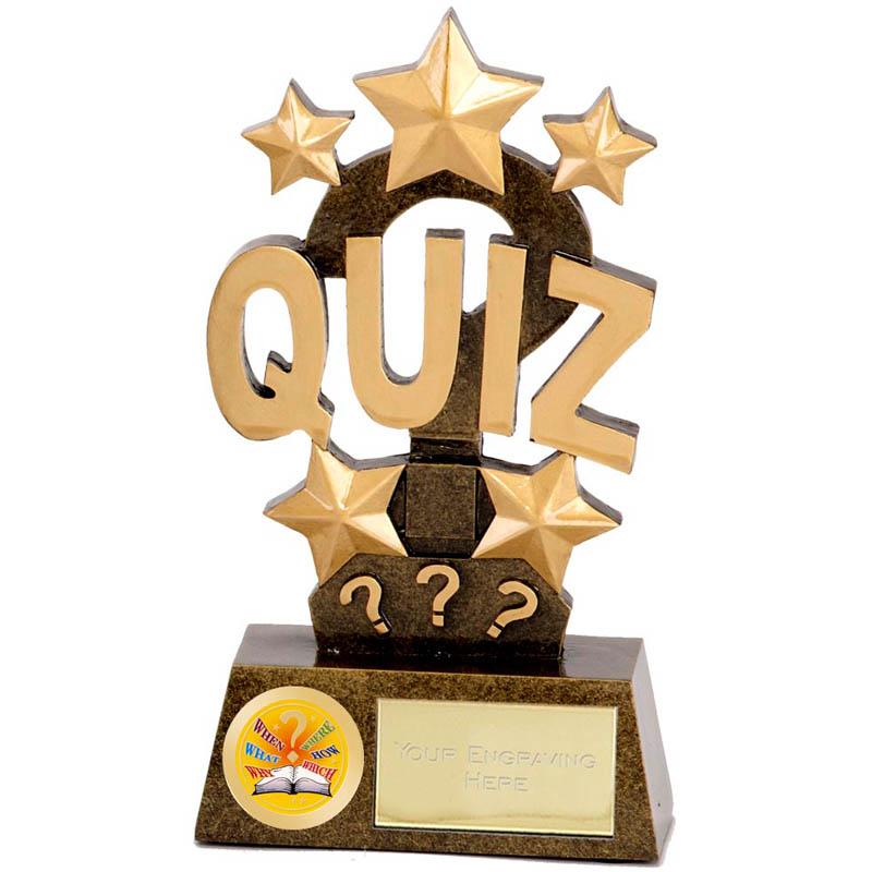 6 Inch Pinnacle Quiz Award