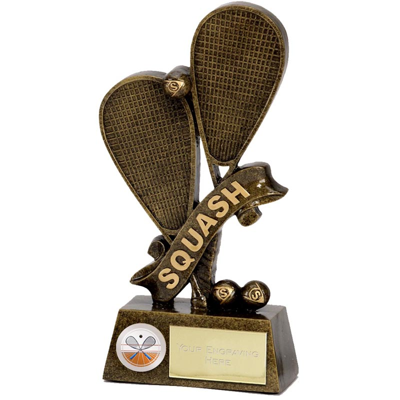 7 Inch Pinnacle Squash Award