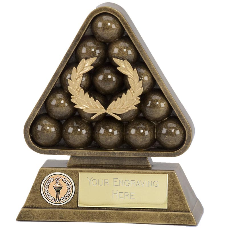 5 Inch Paragon Pool Snooker Award