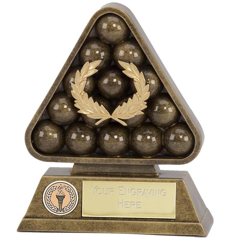7 Inch Paragon Pool Snooker Award