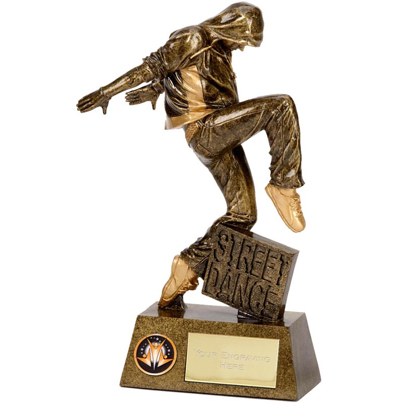 Street Dance Dance Pinnacle Statue