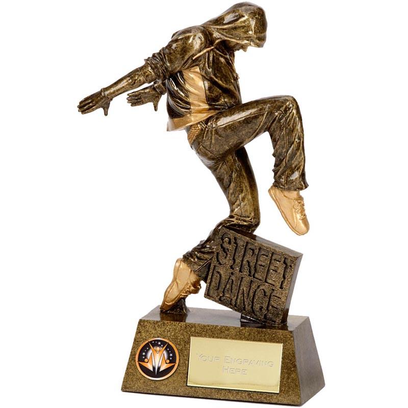 9 Inch Street Dance Dance Pinnacle Statue