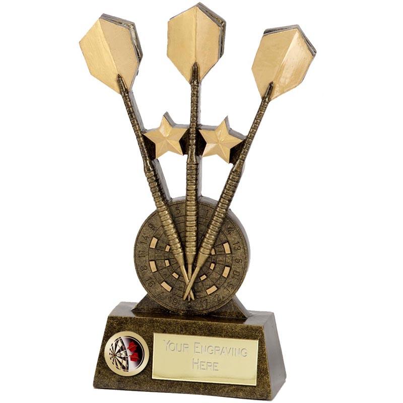 9 Inch Pinnacle Darts Resin Award