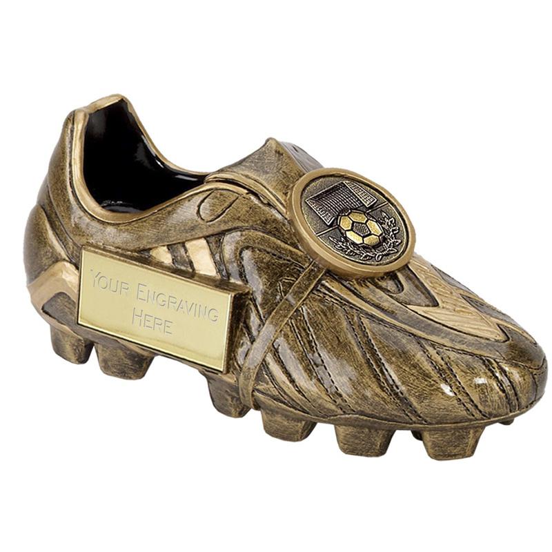6 Inch Detailed Boot Football Premier 3D Award