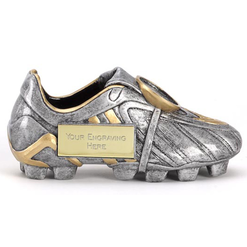 5 Inch Premier Silver Boot Award