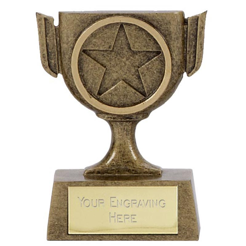 3 Inch Mini Trophy Mini Award
