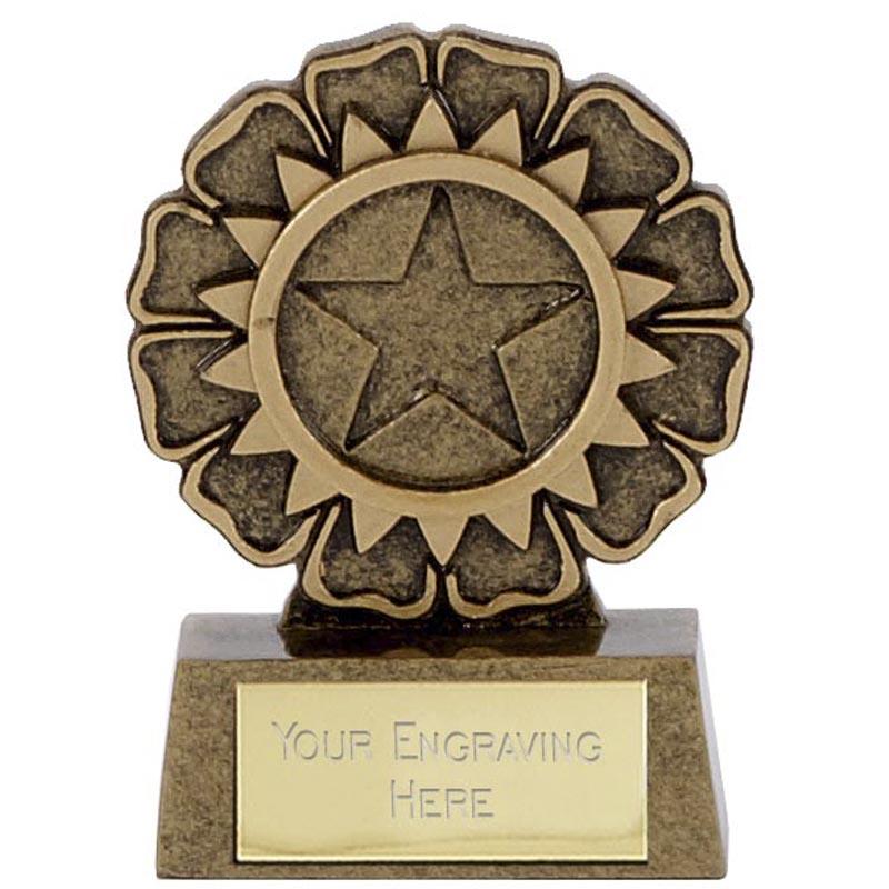 3 Inch Mini Rosette Mini Award