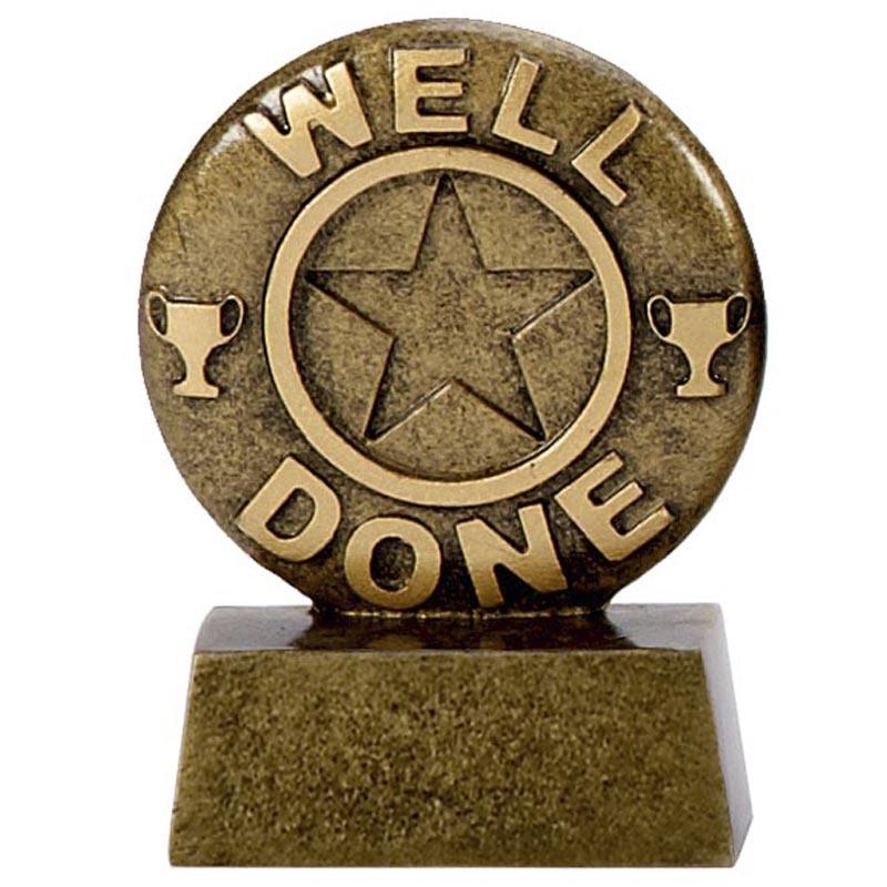 3 Inch Well Done Mini Award